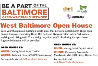 W Baltimore Open Houses