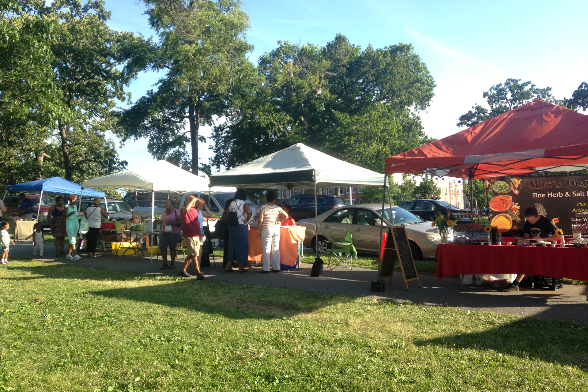 Druid Hill Farmers Market 2016