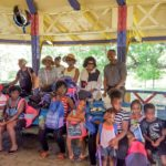 ATA BacktoSchool Bonanza group photo with kids