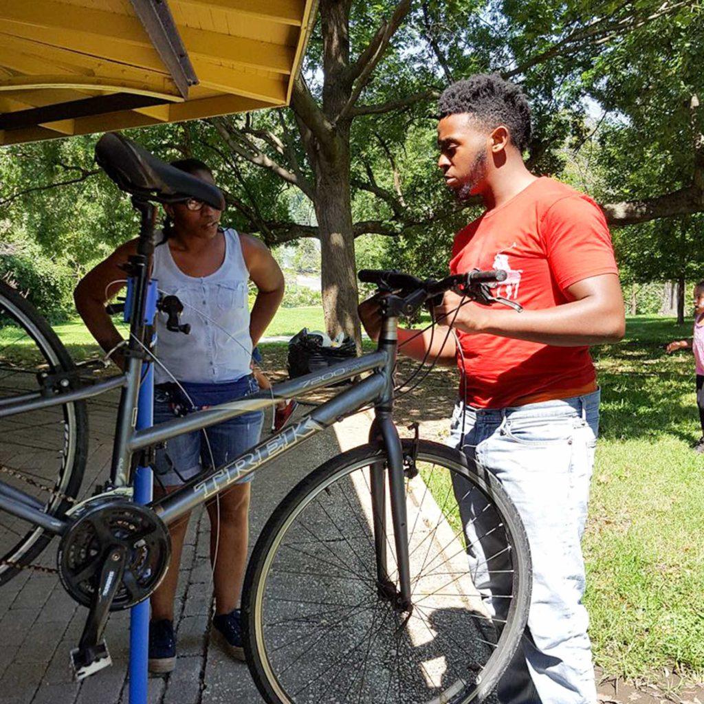 ATA BacktoSchool Bonanza fixing bikes