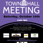 7th District Town Hall Transportation Flyer 10.14.17