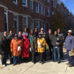 171117 Auchentoroly Terrace walking tour group