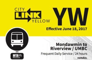 MTA CityLink Yellow Bus