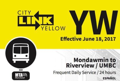 MTA CityLink Yellow Bus