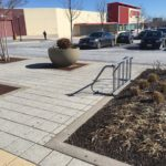 Mondawmin Mall new bike rack