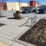 Mondawmin Mall new bike rack