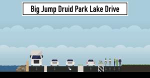 Big Jump Druid Park Lake Drive