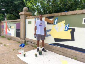 DPW Every Day Mural Gary Mullen
