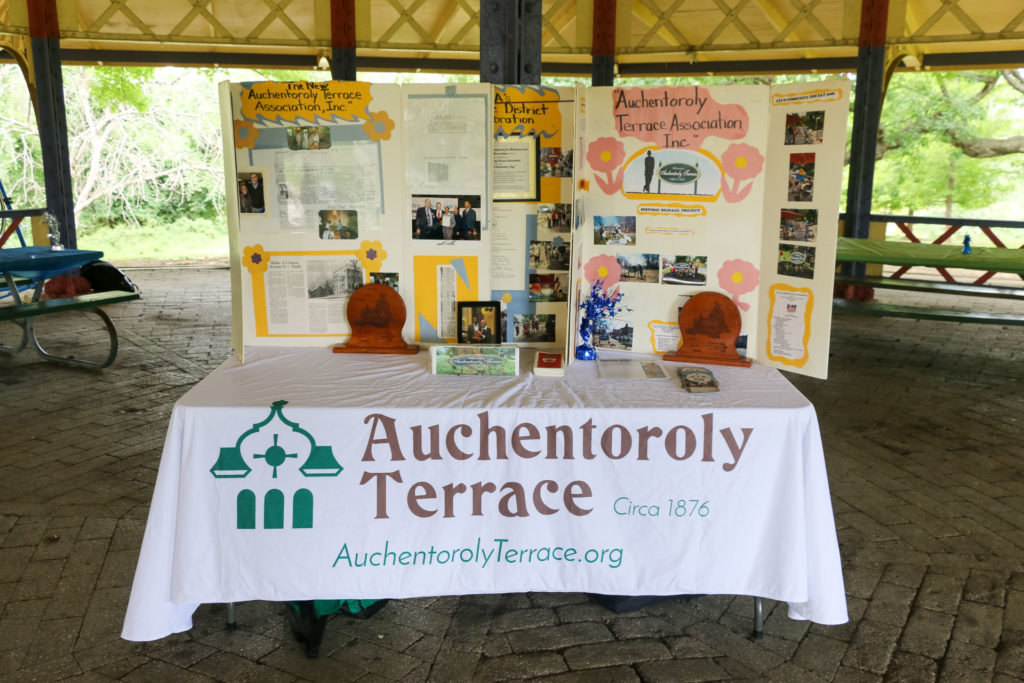 2019 Auchentoroly Terrace Youth Jam table