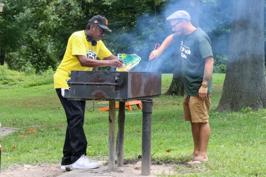 2019 Auchentoroly Terrace Youth Jam grilling
