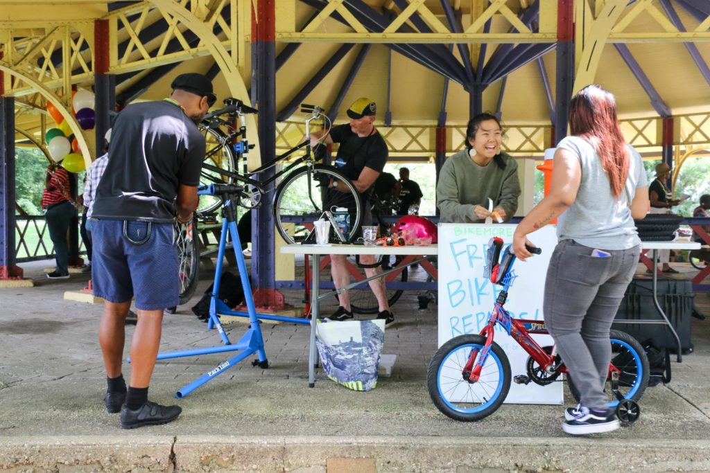 2019 Auchentoroly Terrace Youth Jam Bikemore fixing bikes