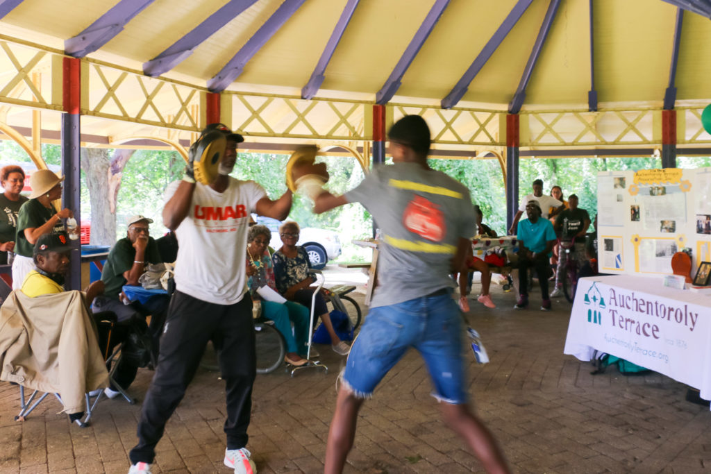 2019 Auchentoroly Terrace Youth Jam Umar Boxing