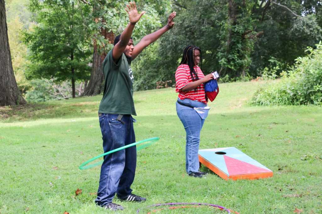 2019 Auchentoroly Terrace Youth Jam hula hooping