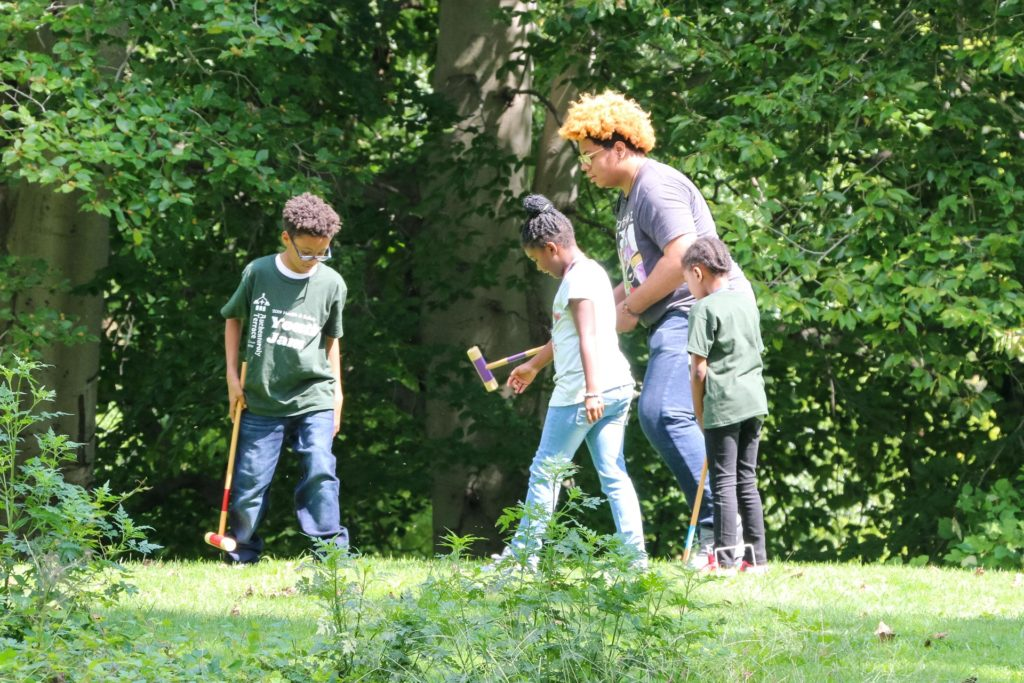 2019 Auchentoroly Terrace Youth Jam croquet